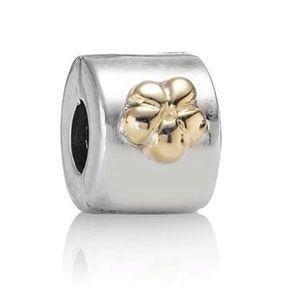 14k Pandora Flower Clip